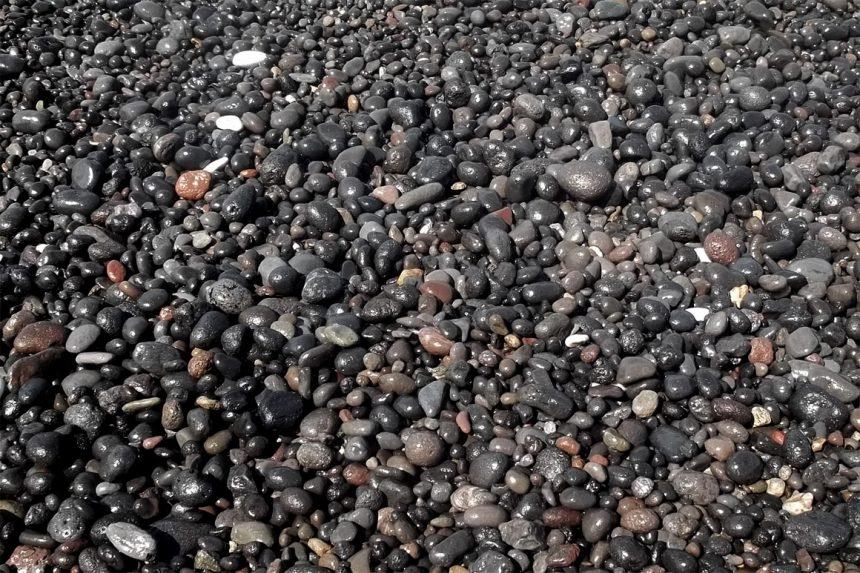 Вулканические породы острова Санторини