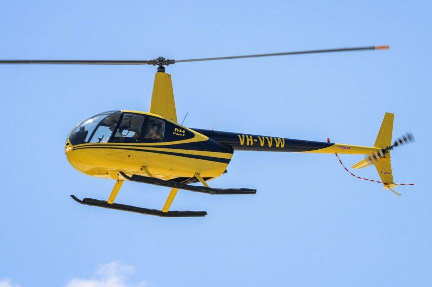 Аренда вертолёта на Санторини: Robinson R44