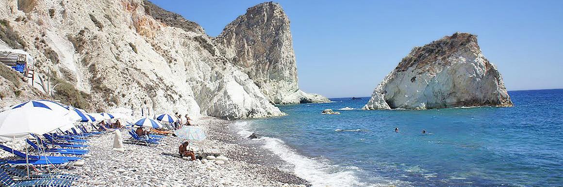 Белый пляж Санторини