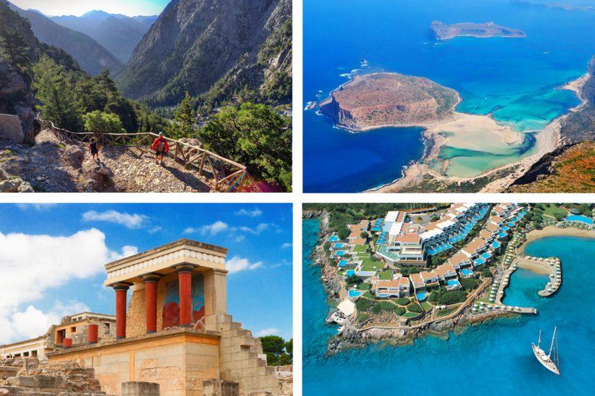 Аренда вертолёта на Санторини: полёт на остров Крит